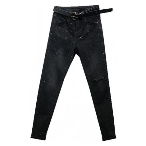 Dámské džíny s kamínky FashionEU