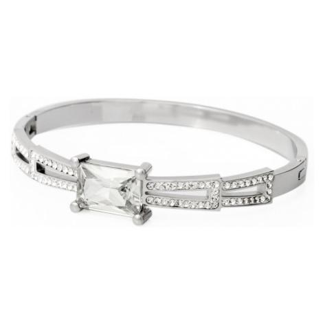 Linda's Jewelry Náramek Shiny Zirkon chirurgická ocel INR027