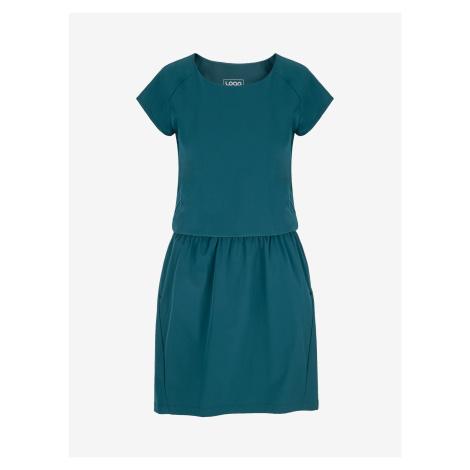 Umbria Šaty Loap Modrá