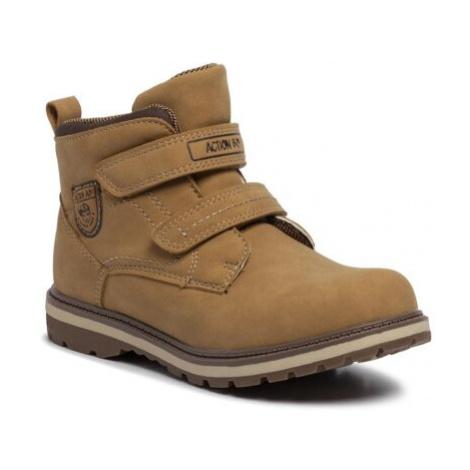 Šněrovací obuv Action Boy CP07-17028-01 Ekologická kůže /-Ekologická kůže