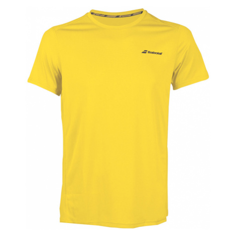 Dětské tričko Babolat Core Flag Club Tee Boy Yellow