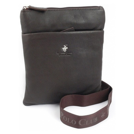 Taška crossbody kožená BHPC Virginia L Beverley Hills Polo Club