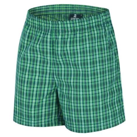Dámské šortky Alpine Pro INES - zelená