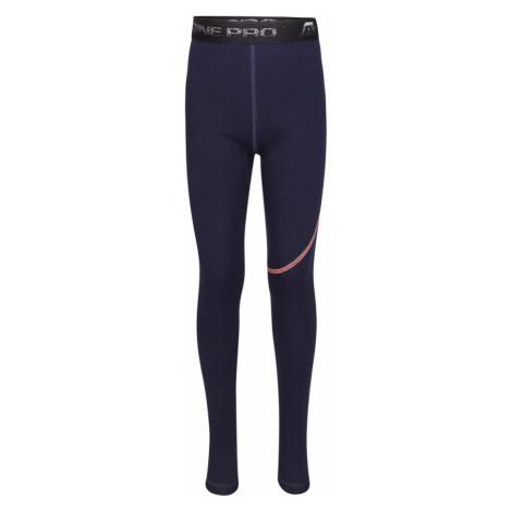 ALPINE PRO GAZERO Dětské spodní kalhoty KUNP018602PB mood indigo