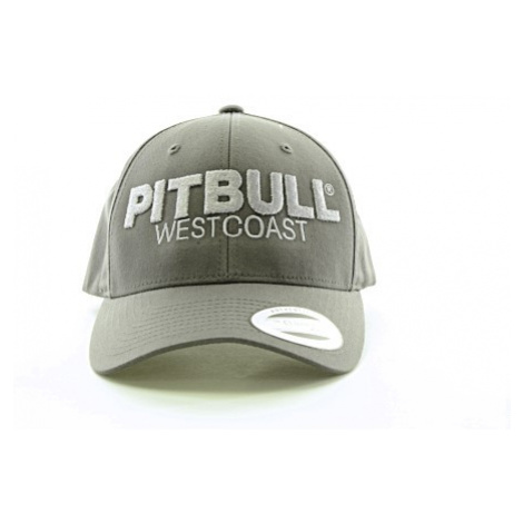 Kšiltovka PitBull West Coast Snapback Classic TNT tmavě šedá