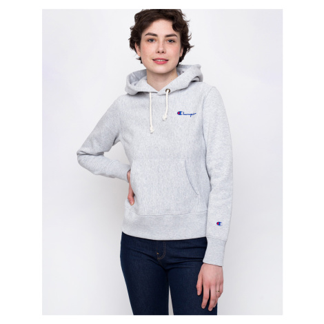 Champion Hooded Sweatshirt Light Grey