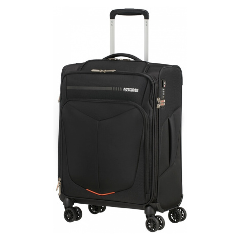 AT Kufr Summerfunk Spinner 55/20 Cabin USB Black, 40 x 20 x 55 (124888/1041) American Tourister