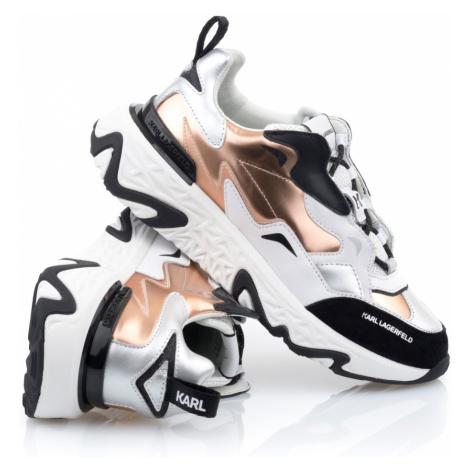 Tenisky Karl Lagerfeld Blaze Strike Lace Mix - Různobarevná