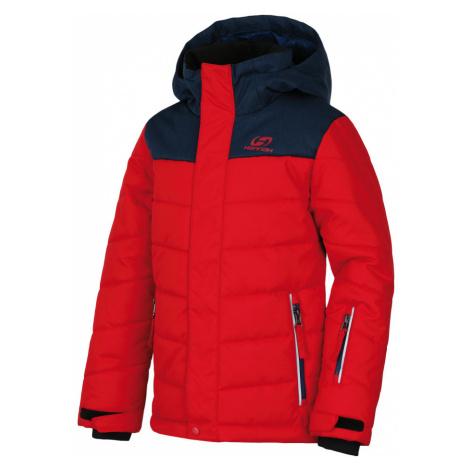 HANNAH KINAM JR Chlapecká zimní bunda 10007374HHX01 racing red/majolica mel