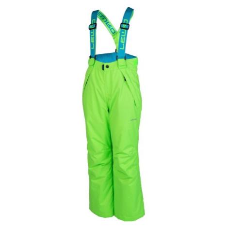 Lewro NYX zelená - Dětské snowboardové kalhoty