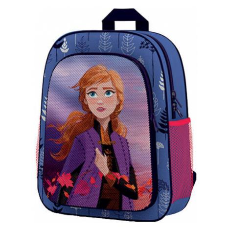 Oxybag FROZEN modrá - Předškolní batoh