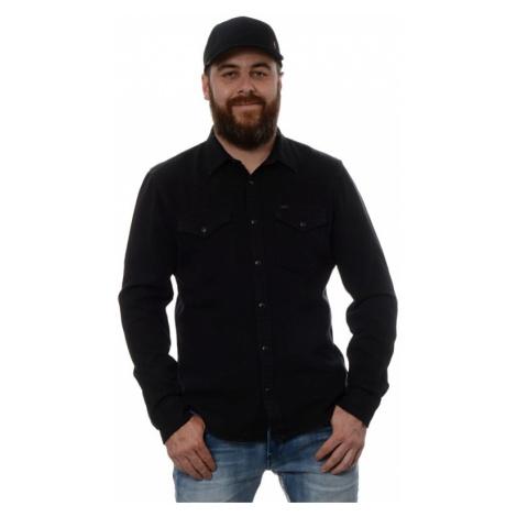 Košile Lee Western pánská černá