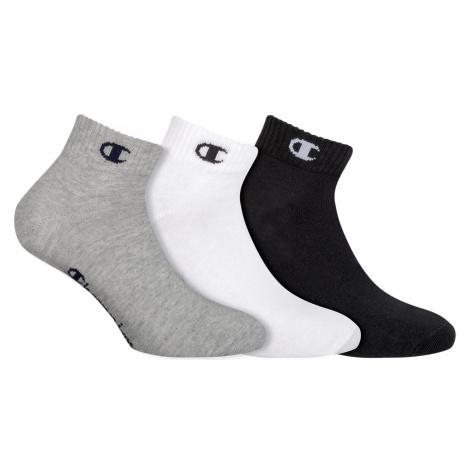 Ponožky Unisex Champion 8QH 3PACK MIX | vzorované