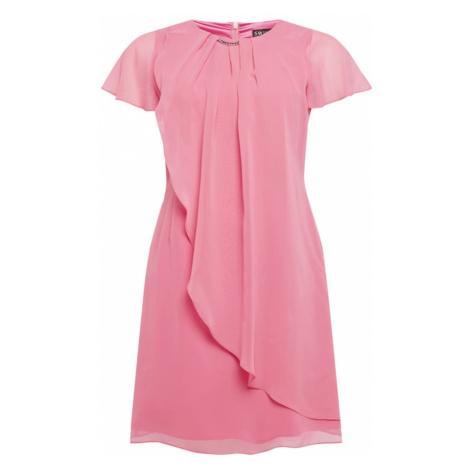 SWING Curve Koktejlové šaty růžová