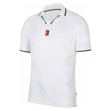 Pánské tričko Nike Court Breathe Slam Polo White