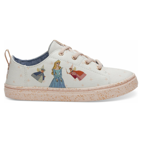 Disney X Toms Natural Fairy Godmother Youth Lenny Sneakers