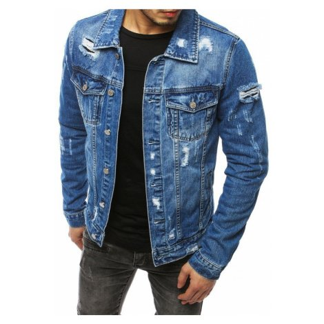 Dstreet Pánská riflová bunda v modré barvě