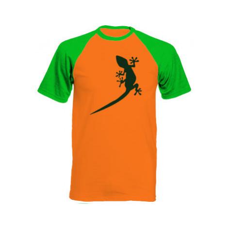 Pánské tričko Baseball Gekon