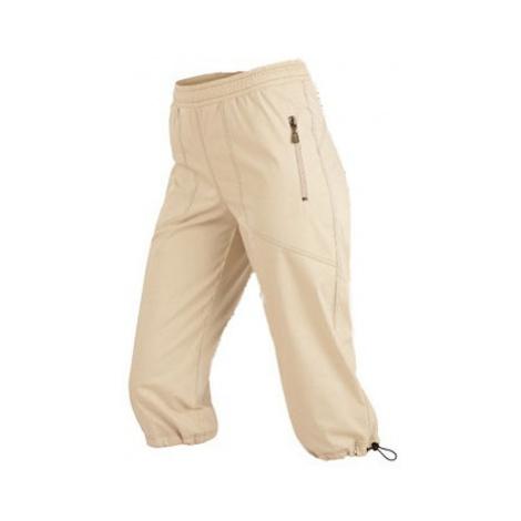 Dámské kalhoty v 3/4 délce do pasu Litex 99579 | tmavě modrá
