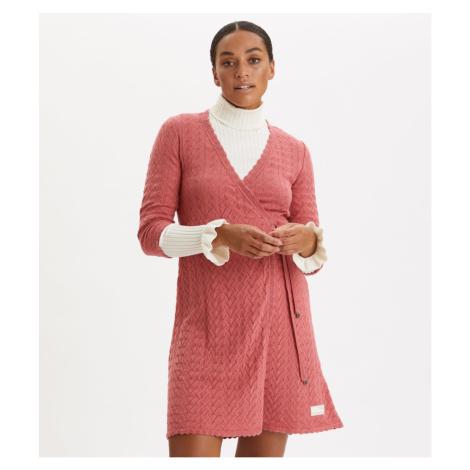Šaty Odd Molly Wrap Up & Go Dress - Červená