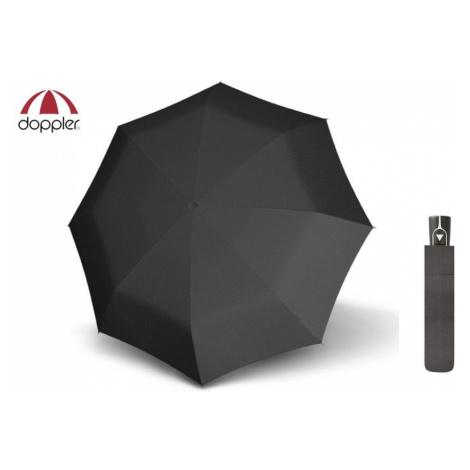 Černý vzorovaný deštník Doppler Fiber AC