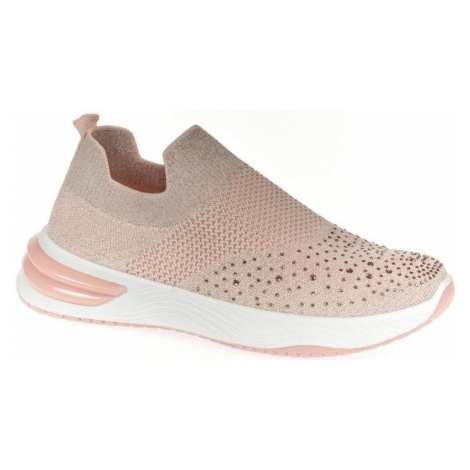 Bosido Dámske ružové elastické tenisky ALANZA Růžová