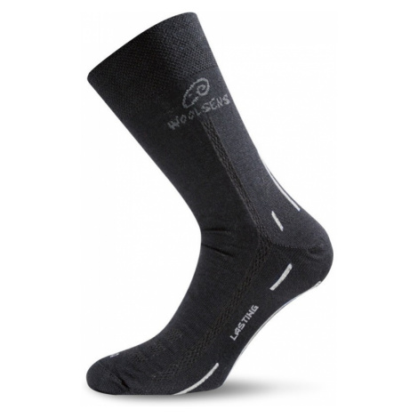 Ponožky Lasting WLS 70% Merino - černé