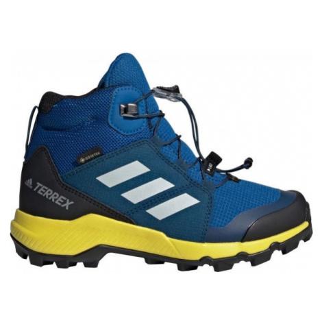 adidas TERREX MID GTX K modrá - Dětská outdoorová obuv