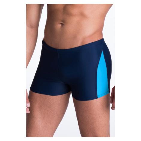 Primo Pánské plavky boxerky David modré