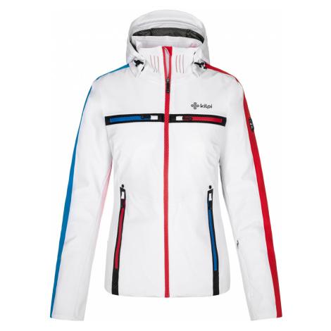 KILPI Dámská lyžařská bunda - větší velikosti HATTORI-W NLX080KIWHT Bílá