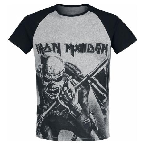 Iron Maiden EMP Signature Collection tricko světlešedá melírovaná/čierna