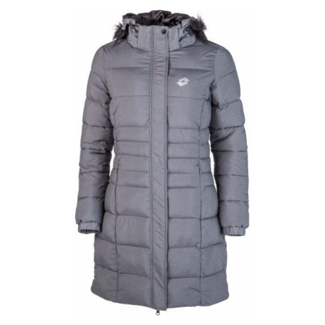 Lotto EDITH tmavě šedá - Dámský prošívaný kabát