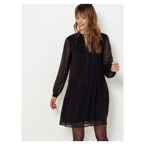Černé šaty CAMAIEU Camaïeu
