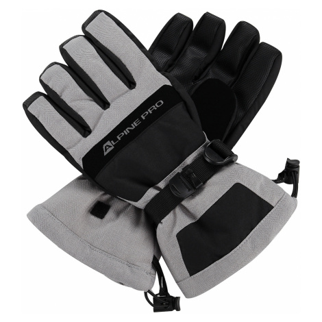 ALPINE PRO MIRON Unisex lyžařské rukavice UGLP012769 vapor blue