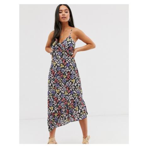Miss Selfridge floral midi dress