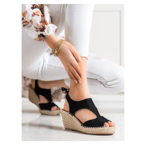 EVENTO SANDALS ESPADRYLE WITH BOW