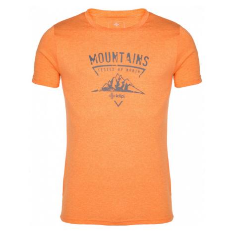 KILPI Pánské tričko GAROVE IM0181KIORN Oranžová
