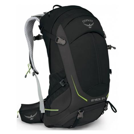 OSPREY STRATOS 34 II Turistický batoh OSP2103042602 black