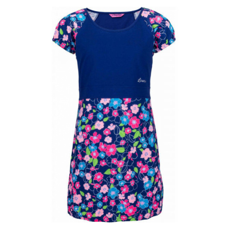 Lewro LASSI tmavě modrá - Dívčí šaty