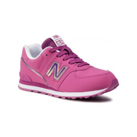 New Balance NBGC574MTP Růžová