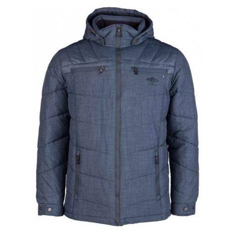 Umbro ARNES tmavě modrá M - Pánská prošívaná bunda