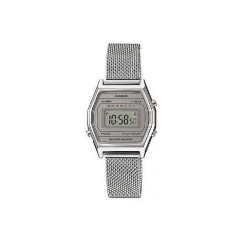 Casio LA 690WEM-7EF stříbrné