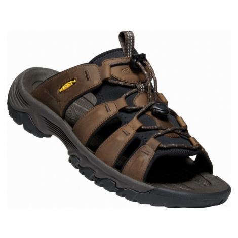 Pánské pantofle Keen Targhee III Slide M bison/mulch UK