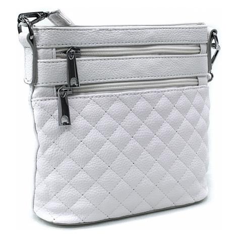 Bílá malá crossbody dámská kabelka Cordelia Mahel