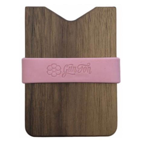 Gunton dřevěná peněženka hnědé gunton_pnk_1