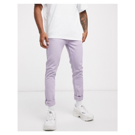 ASOS DESIGN skinny jeans in lilac-Purple