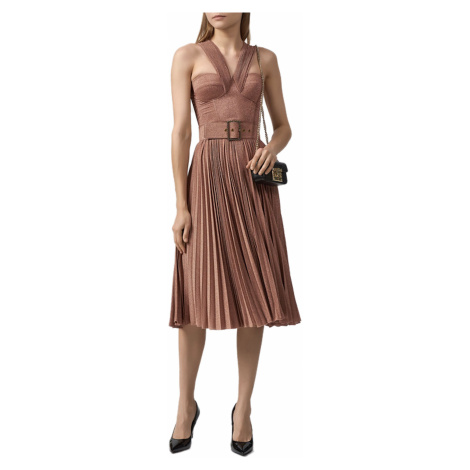 Růžové šaty - ELISABETTA FRANCHI