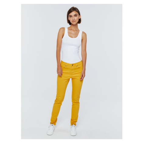Big Star Woman's Trousers 115490 Light Jeans-202