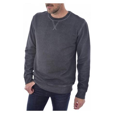 Calvin Klein pánská tmavě šedá mikina