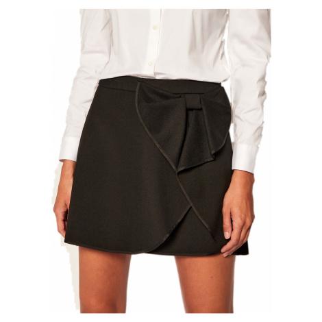 Černá mini sukně - RED VALENTINO